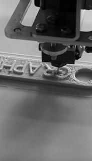 3D-Druck auf dem Teststand